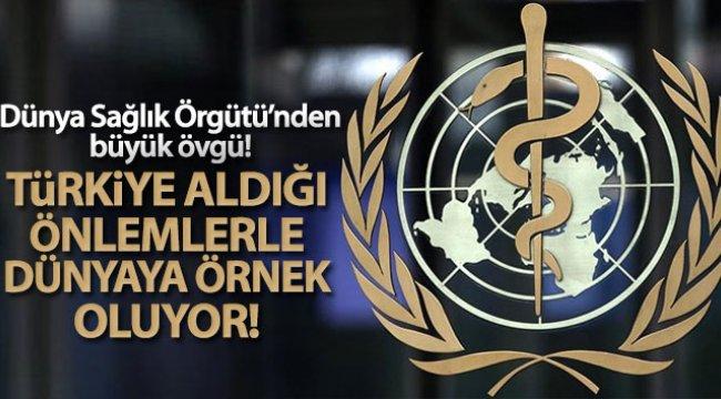 Dünya Sağlık Örgütü: 'Türkiye huzurevleri ve bakım kuruluşlarında alınan önlemlerle dünyaya örnek oluyor'