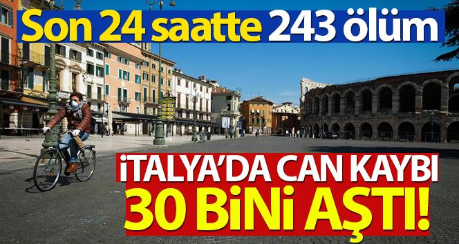 İtalya'da son 24 saatte 243 kişi hayatını kaybetti