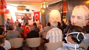 MHP Hınıs ve Uzundere ilçe kongreleri yapıldı