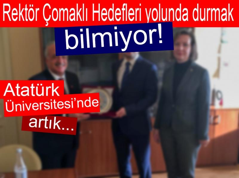 Atatürk Üniversite'sinde artık...